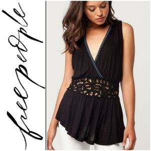 🚨NEW LIST! Free People Megan Lace Insert Top